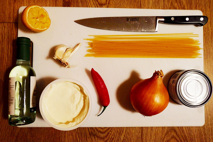 crab linguine recipe