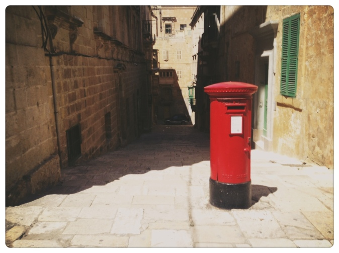 English Post Box Malta