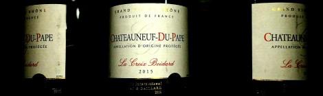 Lidl Chateauneuf Du Pape Bottles