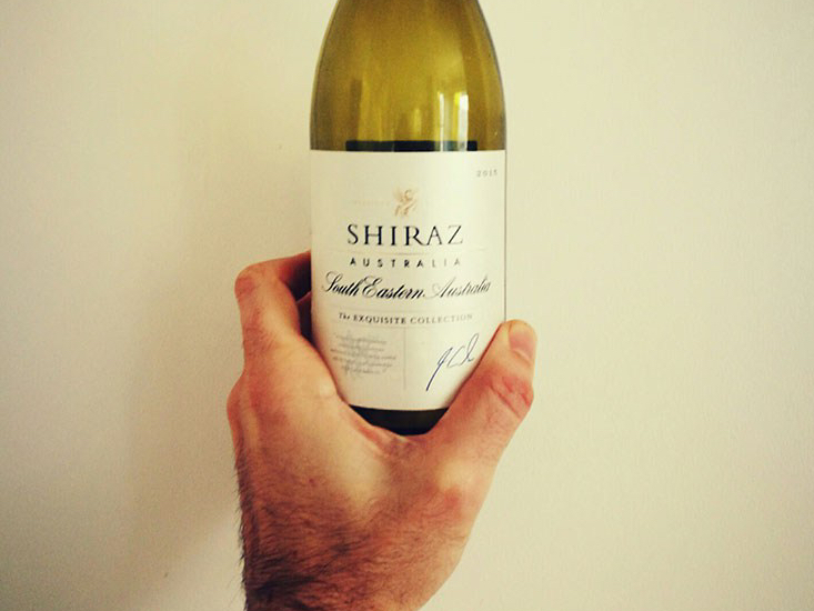Aldi Exquisite Collection Shiraz Wine