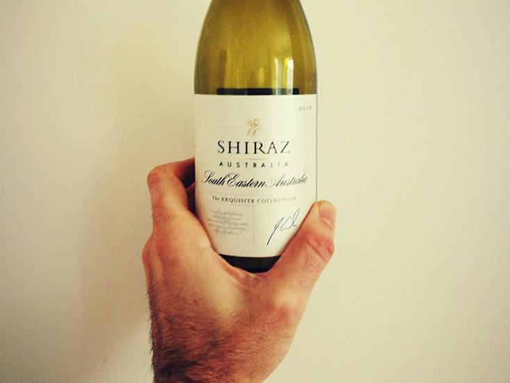 Aldi Exquisite Collection Shiraz Wine