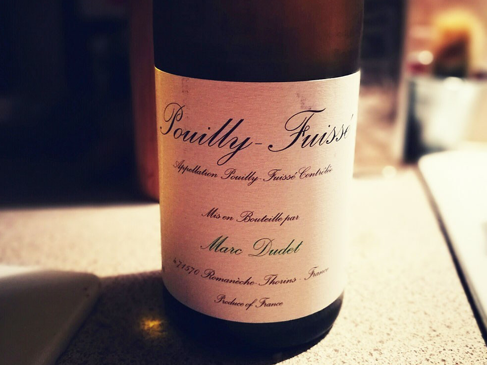Marc Dudet Pouilly Fuisse Wine From Waitrose