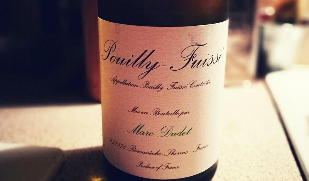 Marc Dudet Pouilly Fuisse Wine From Waitrose