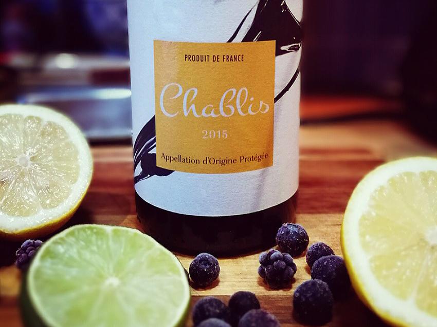 Lidl Chablis wine