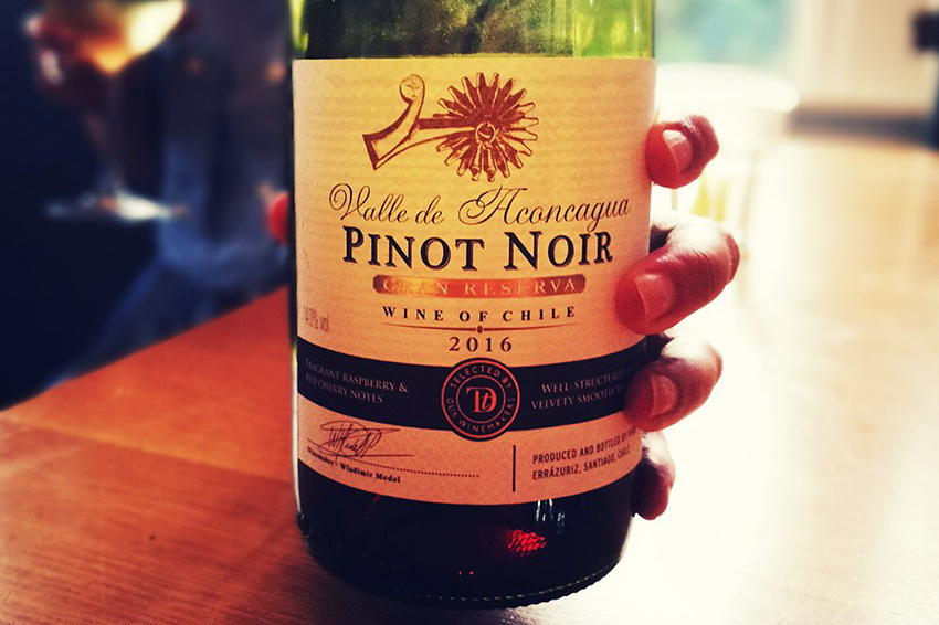 Sainsbury's chilean pinot noir review