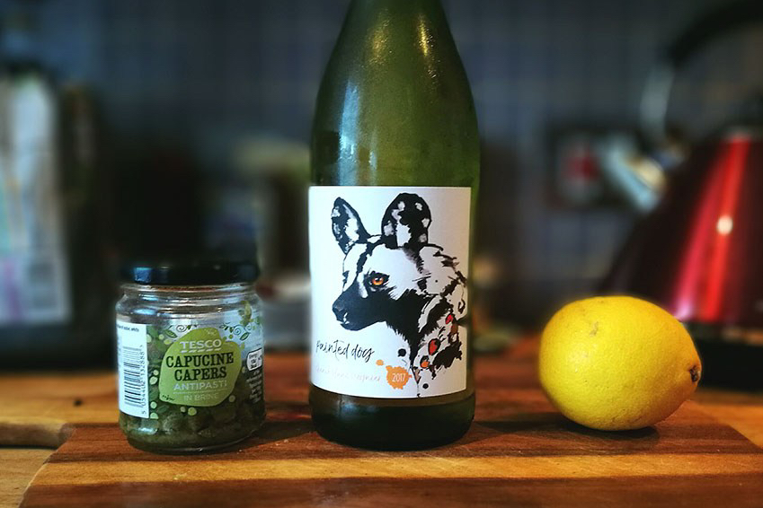 aldi painted dog chenin blanc viognier
