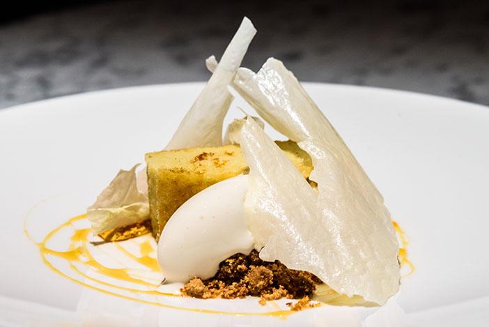 Pascere restaurant brighton dessert