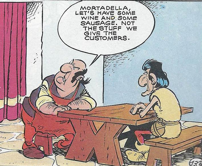 Asterix wine