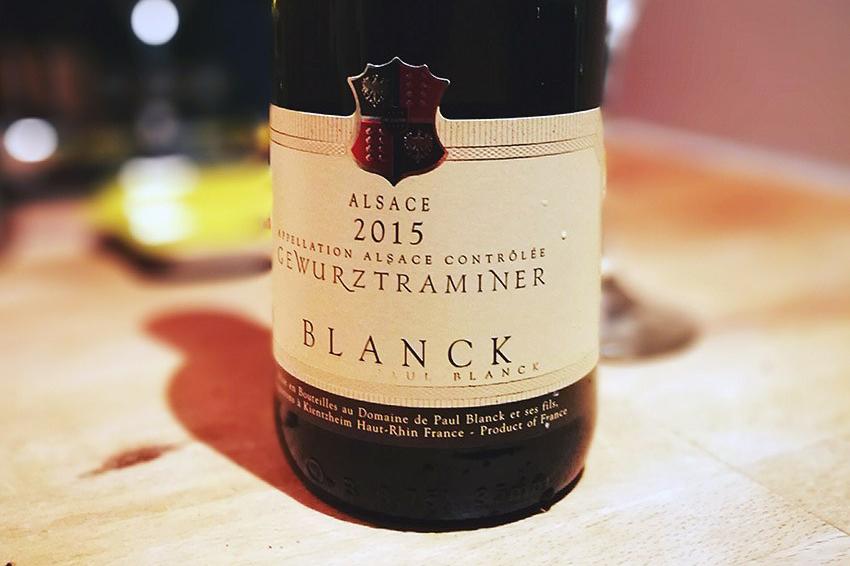 Waitrose Blanck Gewürztraminer
