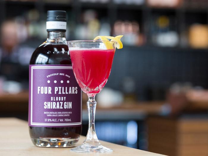 selfridges bloody shiraz gin