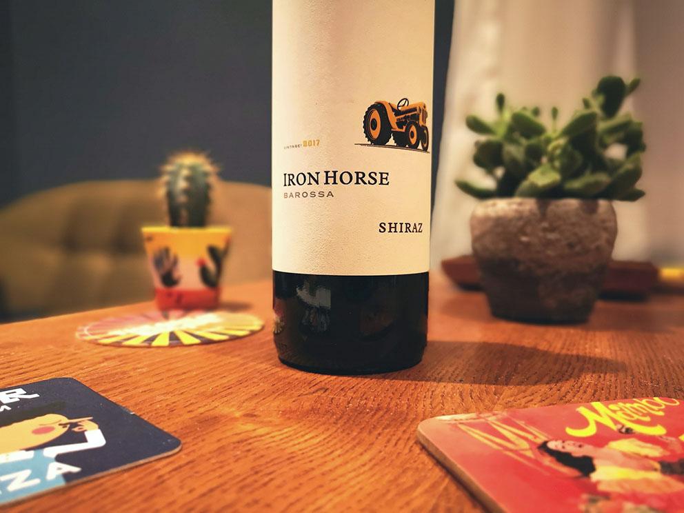 aldi iron horse shiraz