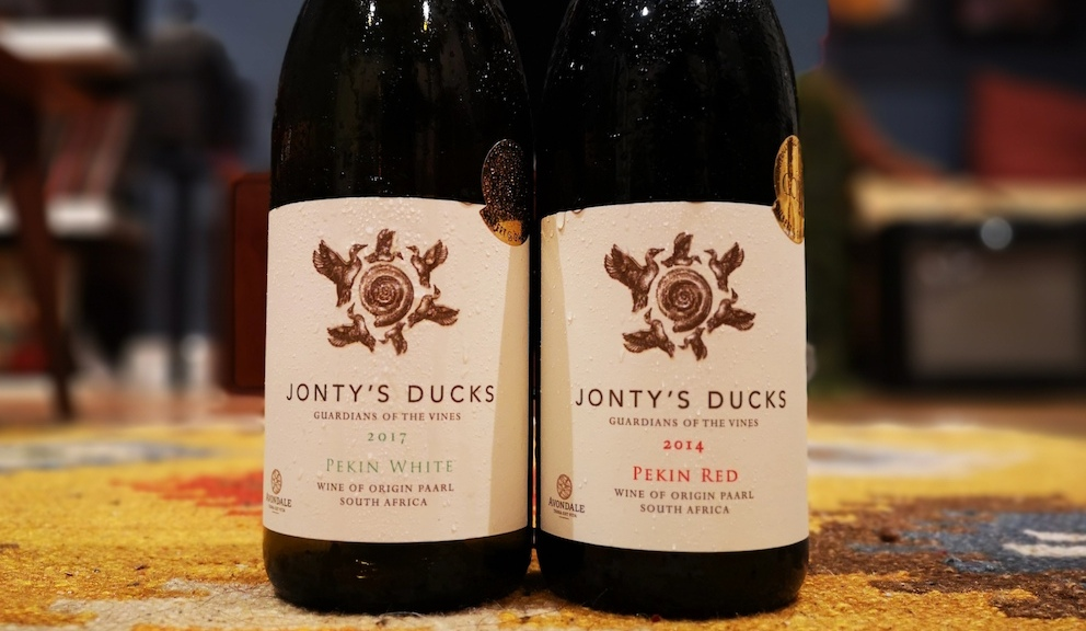 jonty's ducks wine